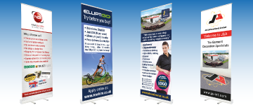 Premium Roller Banners | www.colour-frog.co.uk